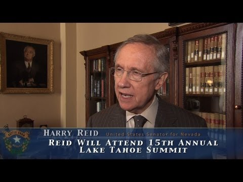 Reid previews 15th annual Tahoe Summit