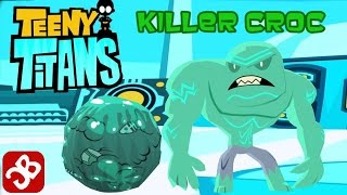 Teeny Titans - Killer Croc- New Figure - iOS / Android - Gameplay Video