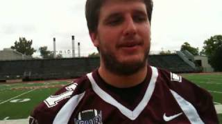 Missouri State offensive lineman David Arkin