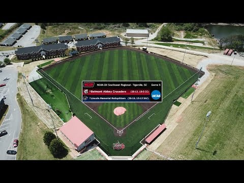 #7 Lincoln Memorial Vs. #3 Belmont Abbey - NCAA Division II Southeast Regional (Game 6)