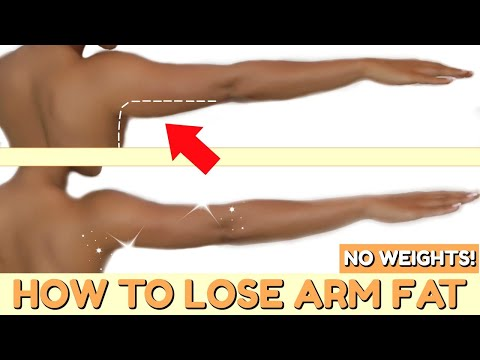 How To Lose Arm Fat FAST || 10 MIN ARM WORKOUT FOR WOMEN – NO WEIGHTS