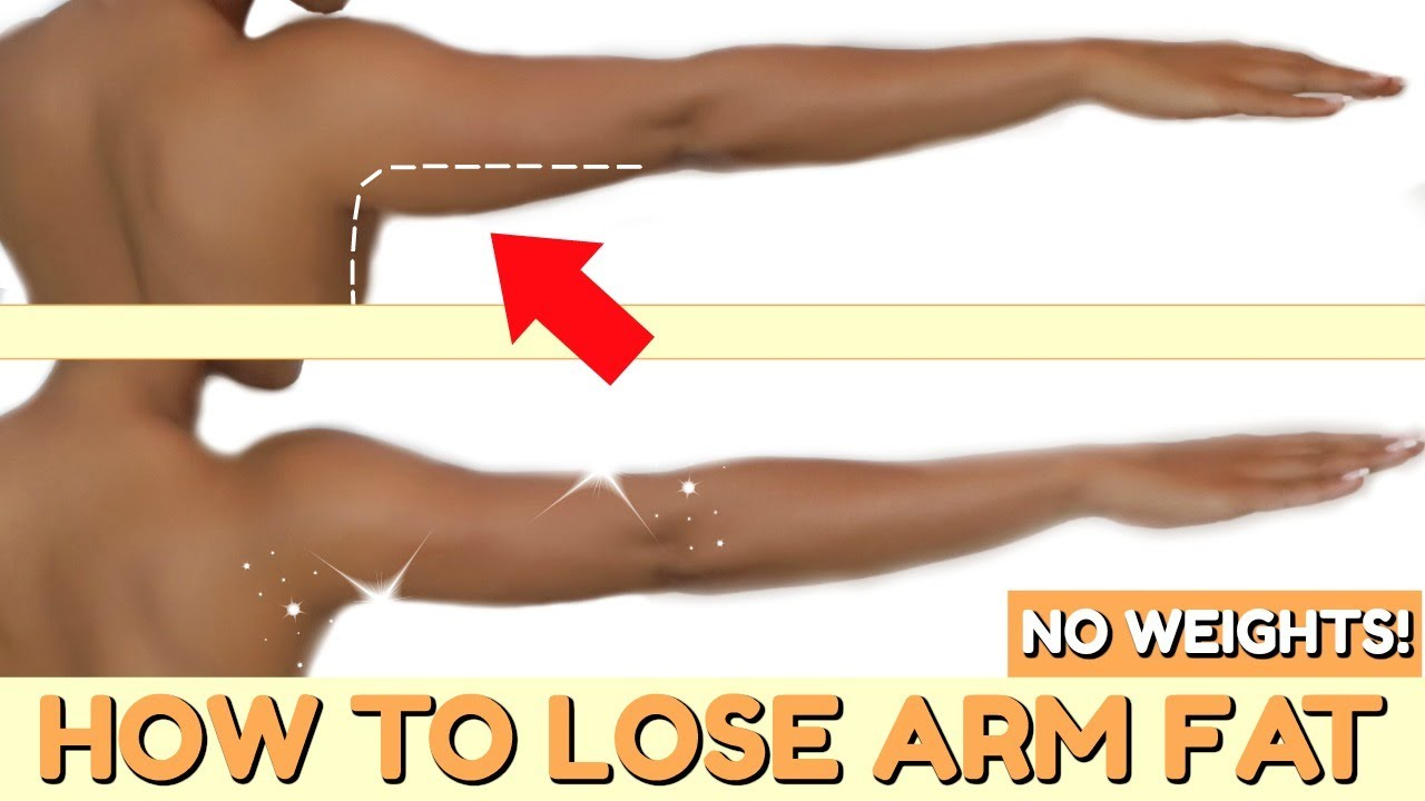 how to lose arm fat in 2 weeks at home