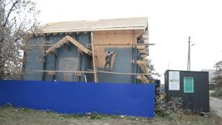Покраска деревянного дома по технологии двойной брус.(Покраска дома в Лаишевском районе завершена., 2015-10-20T12:24:11.000Z)