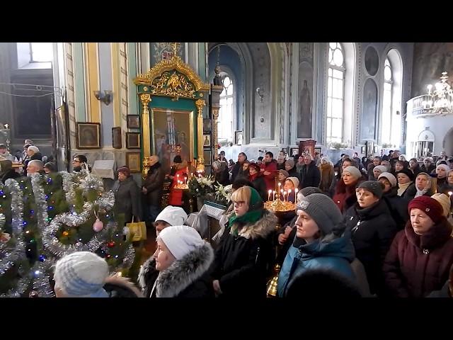 Великий Вход, Архиерейская Литургия. Третий день по Рождестве Христовом.