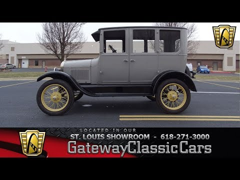 #7582 1926 Ford Model T - Gateway Classic Cars of St. Louis