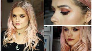 Burnt Orange Autumn Makeup Tutorial | Jordan Bone
