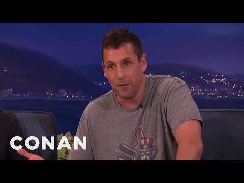 Adam Sandler's Finest Fart Story  - CONAN on TBS