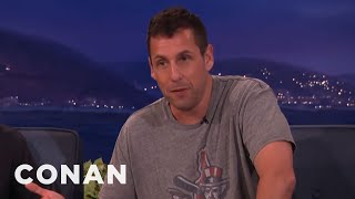 Adam Sandler's Finest Fart Story  - CONAN on TBS