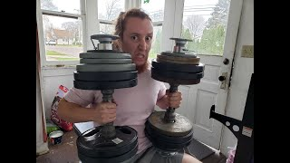 Olympic Dumbbell Handles 18 Inch