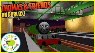 Let's Play THOMAS AND FRIENDS on ROBLOX! Cool Beans Railway?!