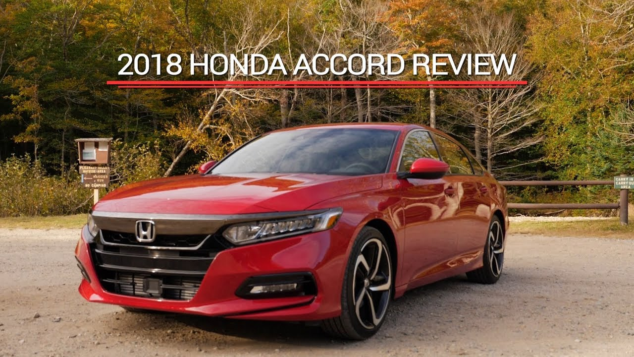 We Drove The All New 2018 Honda Accord