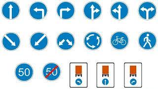 Тема Дорожные знаки. Введение в предписывающие и особых предписаний