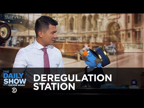 Deregulation Station – For-Profit Colleges & Trump's Liberation of Corporations | The Daily Show