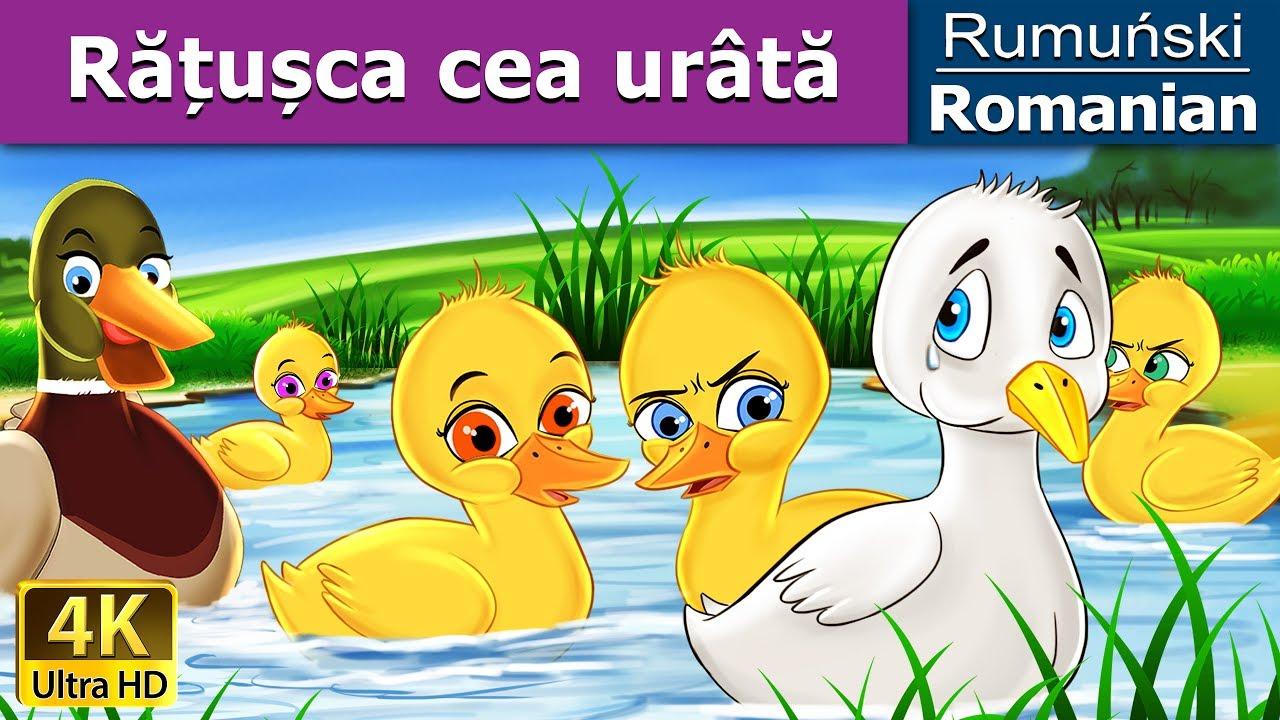 Rățușca cea urâtă | Povesti pentru copii | Basme in limba romana | Romanian Fairy Tales