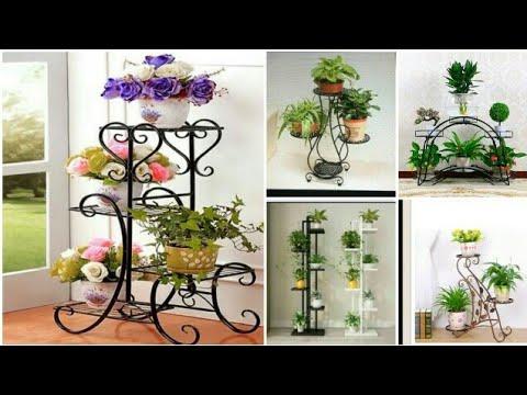 Metal Flower Pot Stands    Plant Stand Ideas    Indoor Garden