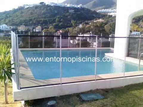 Vallas desmontables para piscinas youtube for Piscinas desmontables