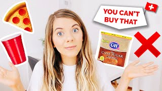 Switzerland | 6 Common USA Items You Can't Buy Here
