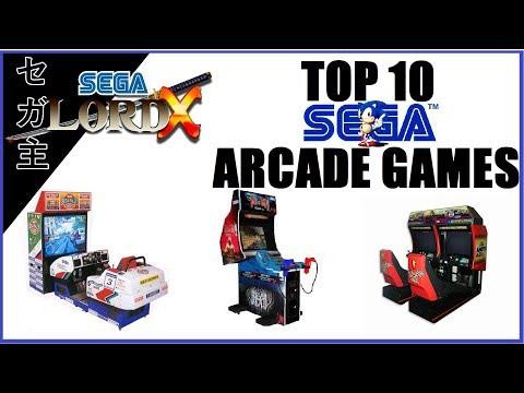 The SLX Top 10 Sega Arcade Games