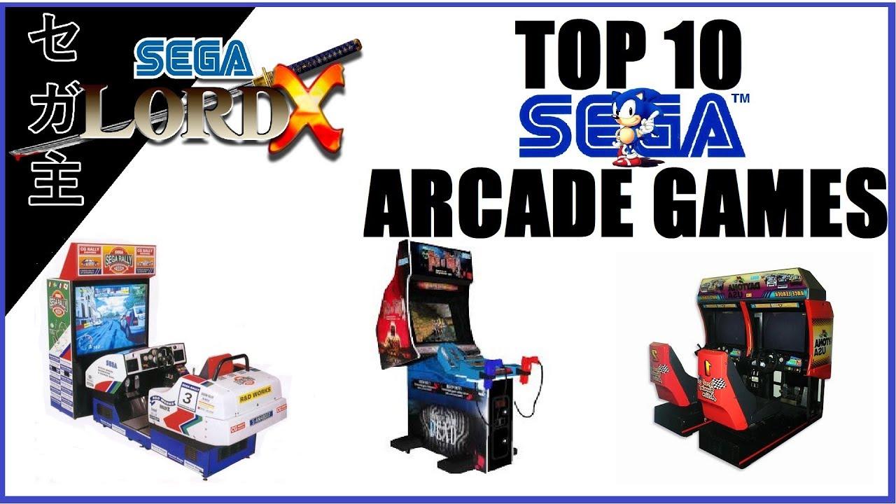 The SLX Top 10 Sega Arcade Games - YouTube
