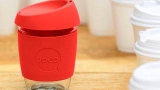 joco glass coffee cup
