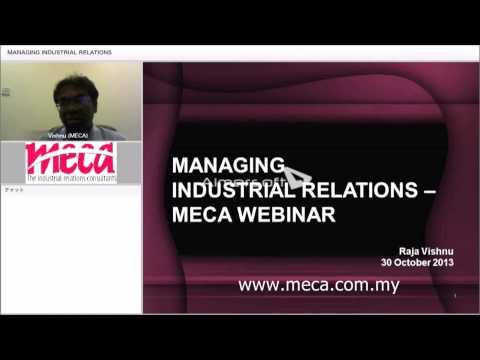 Managing Industrial Relations In Your Organizations Malaysia