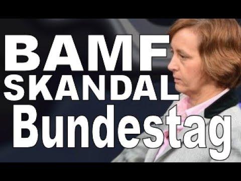 BAMF SKANDAL :  Beatrix von Stroch zum BAMF SKANDAL afd Bundestag