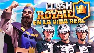 CLASH ROYALE EN LA VIDA REAL - GREFG VS EL ESCUADRÓN