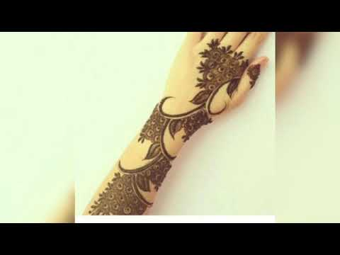 modern instagram arabic mehndi design