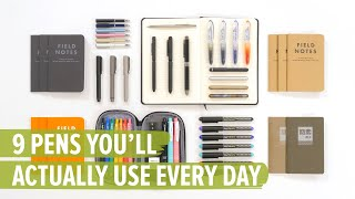 9 Pens You'll Actually Use Every Day
