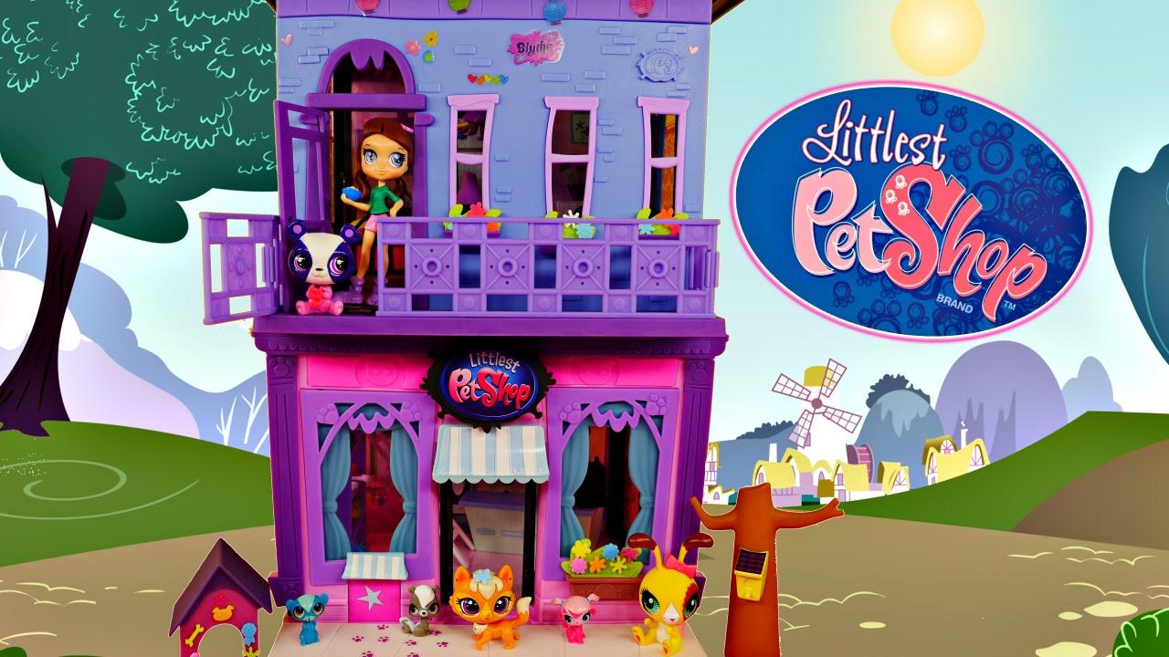 littlest pet shop blythe s bedroom style play set lps