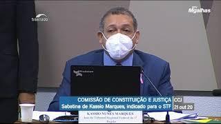 Para Kassio Nunes arma pode servir para proteger residência do cidadão