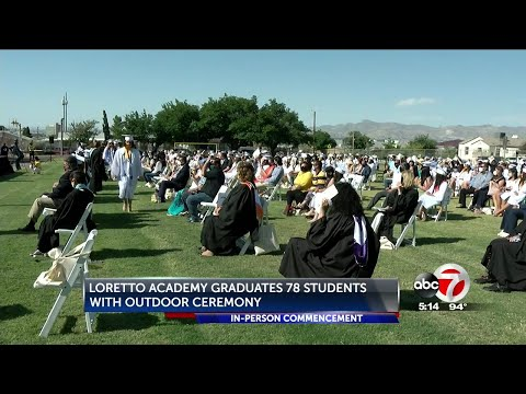 Loretto Academy graduates 78 students with in-person commencement