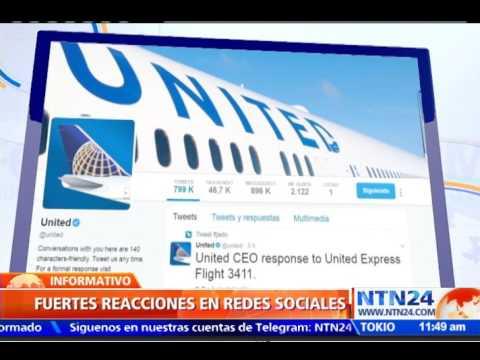 United Airlines cae en Walls Street luego de que un pasajero fuera sacado a la fuerza de sus aviones