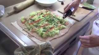 Festive  Vegan Zucchini  Strudel