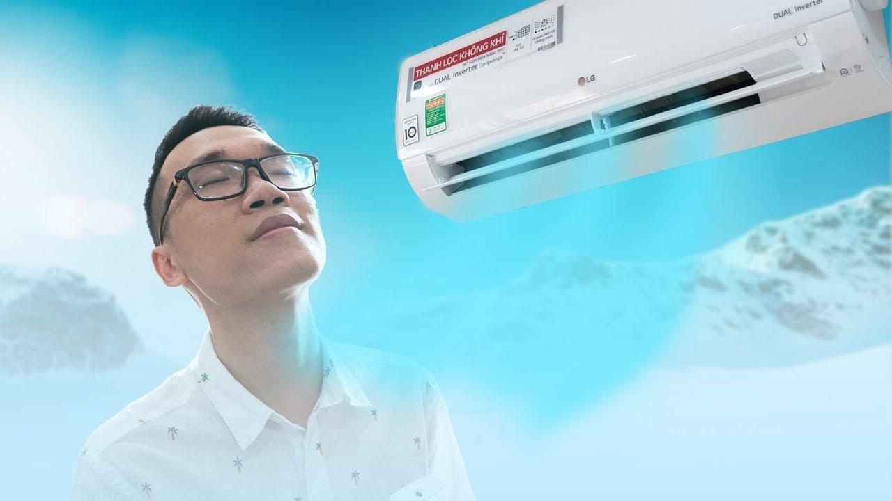 Đánh giá điều hòa LG Dual Cool V10APF: tiết kiệm điện, lọc không khí