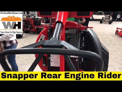 #SnapperMowers Rear Engine
