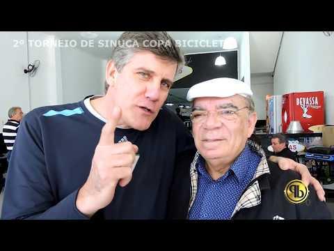 RUI CHAPÉU E ERLEY MEDEIROS - 2º TORNEIO DE SINUCA COPA BICICLETA
