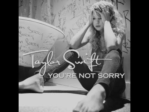 Taylor Swift - You're Not Sorry (Music Video)