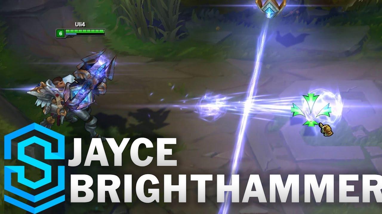 Jayce Brighthammer Skin Spotlight - Pre-Release - League ...