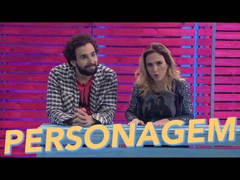Personagem  Tatá Werneck  Paulinho Serra  O Estranho  de Renatinho  Humor Multi