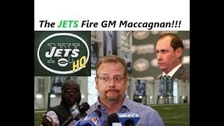 The Jets Fire GM Mike Maccagnan! | New York Jets Name Gase Interim GM | JetsHq