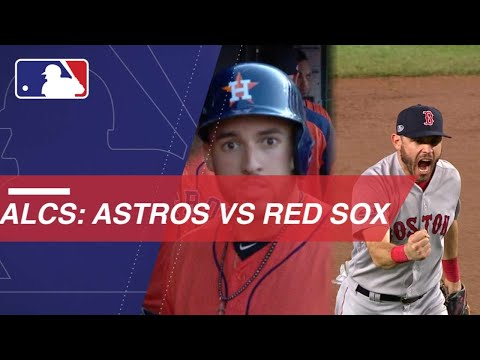 Astros and Red Sox will square off in the 2018 ALCS