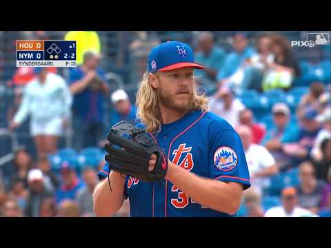 Syndergaard And Mets Defense Shine In Win