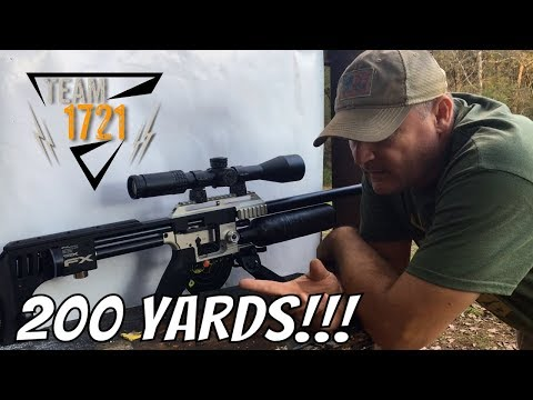 FX Impact .30 cal 200 yards - Chicken Sniper