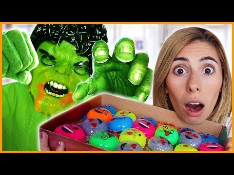 Slime Canavarı Mert Slime Canavarından Kurtarma Eğlenceli Çocuk Videosu Dila Kent