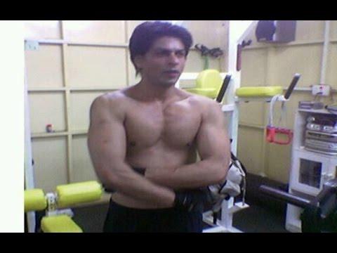 Happy New Year   Shahrukh Khan Abs Secret Revealed - YouTube