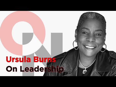 Be Comfortable With Not Fitting In | Ursula Burns | FranklinCovey clip