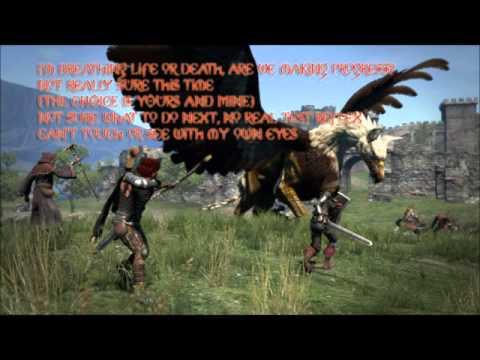 Dragon's Dogma Flying into free lyrics