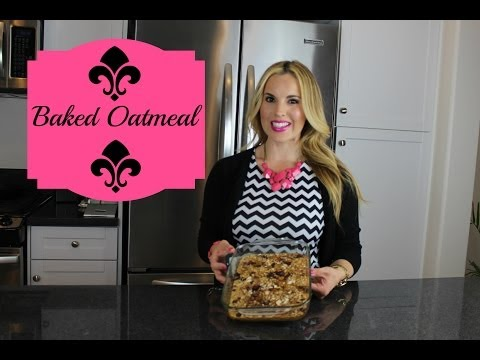 How To Make Baked Oatmeal- Healthy and Delicious Recipe