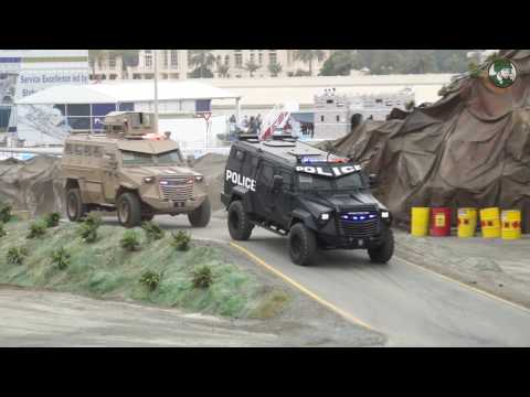 IDEX 2017 International Defense Exhibition Abu Dhabi UAE security military army products Day 3